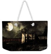 Full Moon Over Hard Time - San Quentin California State Prison - 7d18546 - Partial Sepia Weekender Tote Bag