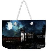 Full Moon Over Hard Time - San Quentin California State Prison - 7d18546 Weekender Tote Bag