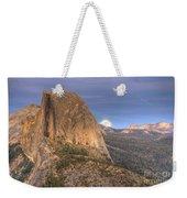 Full Moon Rise Behind Half Dome 2 Weekender Tote Bag