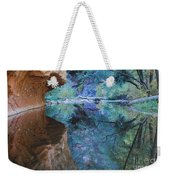 Fully Reflected Weekender Tote Bag