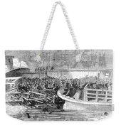 Fulton Ferry Boat, 1868 Weekender Tote Bag