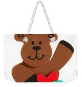 Fun Reindeer Sitting Weekender Tote Bag