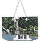 Funeral Weekender Tote Bag