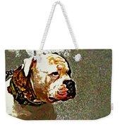 Funky Bulldog Weekender Tote Bag