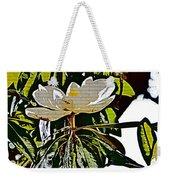 Funky Magnolia Weekender Tote Bag