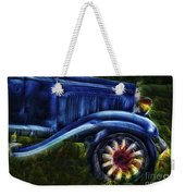 Funky Old Car Weekender Tote Bag
