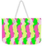 Funky Stripes Weekender Tote Bag