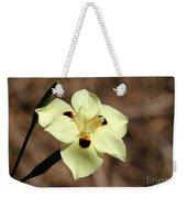 Funny Face Flower Weekender Tote Bag
