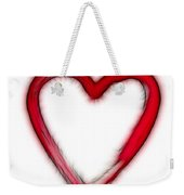 Furry Heart - Symbol Of Love Weekender Tote Bag