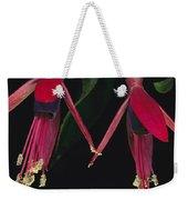 Fuschia Flowers Atlantic Forest Weekender Tote Bag