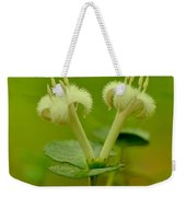 Fuzzy Blooms Weekender Tote Bag