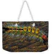 Fuzzy Caterpillar Weekender Tote Bag