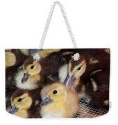 Fuzzy Ducklings Weekender Tote Bag