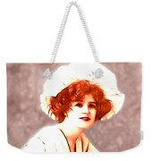 Gabrielle Ray Portrait  Weekender Tote Bag