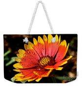Gaillardia Flower Weekender Tote Bag
