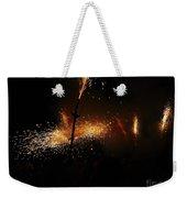 Galaxy Of Sparks Weekender Tote Bag