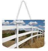 Galloping Fence Weekender Tote Bag