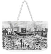 Galveston: Fire, 1877 Weekender Tote Bag