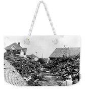 Galveston Flood Debris - September - 1900 Weekender Tote Bag by International  Images