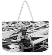 Galveston Flood Survivor - September - 1900 Weekender Tote Bag by International  Images