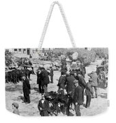 Galway Ireland - The Market At Eyre Square - C 1901 Weekender Tote Bag