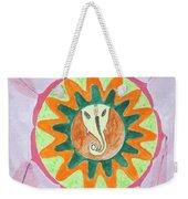 Ganesh Mandala Weekender Tote Bag by Sonali Gangane