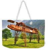 Gantry Crane Weekender Tote Bag