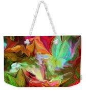 Garden Abstract 072312 Weekender Tote Bag