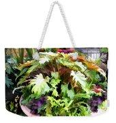 Garden Bowl Of Foliage Weekender Tote Bag