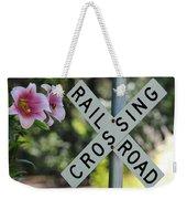 Garden Crossing Weekender Tote Bag