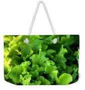 Garden Fresh Salad Bowl Lettuce Weekender Tote Bag