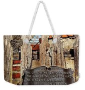 Garden In Philadelphia Weekender Tote Bag