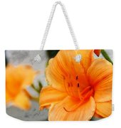 Garden Lily Weekender Tote Bag