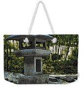Garden Pagoda Weekender Tote Bag