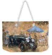 Garden Party With The Bentley Weekender Tote Bag