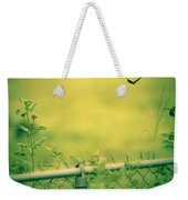 Garden Scene After Lightroom Weekender Tote Bag