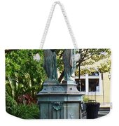 Garden Statuary In The French Quarter Weekender Tote Bag