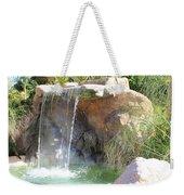 Garden Waterfall Weekender Tote Bag