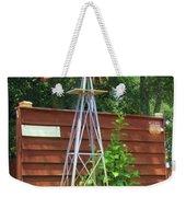 Garden Windmill Weekender Tote Bag