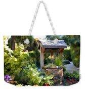Garden Wishing Well Weekender Tote Bag