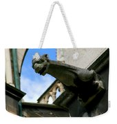 Gargoyle Of Saint Denis Weekender Tote Bag