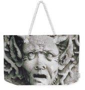 Gargoyle Weekender Tote Bag by Simon Marsden