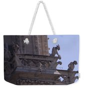 Gargoyles At Notre Dame Cathedral Weekender Tote Bag