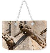Gargoyles On Ely Cathedral Weekender Tote Bag