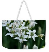 Garlic Chive Blooms Weekender Tote Bag