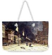 Gas Lights, 1885 Weekender Tote Bag