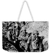 Gas Masks, World War I Weekender Tote Bag by Photo Researchers