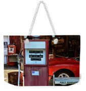 Gas Pump - Texaco Gas Globe Weekender Tote Bag