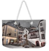 Gasthaus And Church-colour Weekender Tote Bag