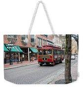 Gastown Street Scene Weekender Tote Bag